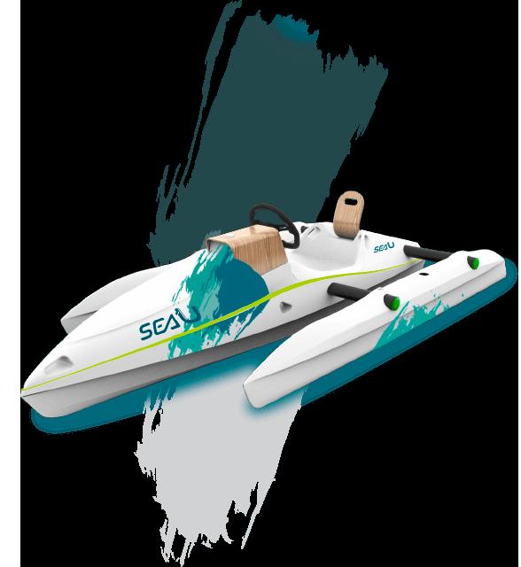 bateau électrique sea u